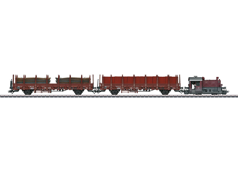Coffret de train: Locomotive diesel série Köf II