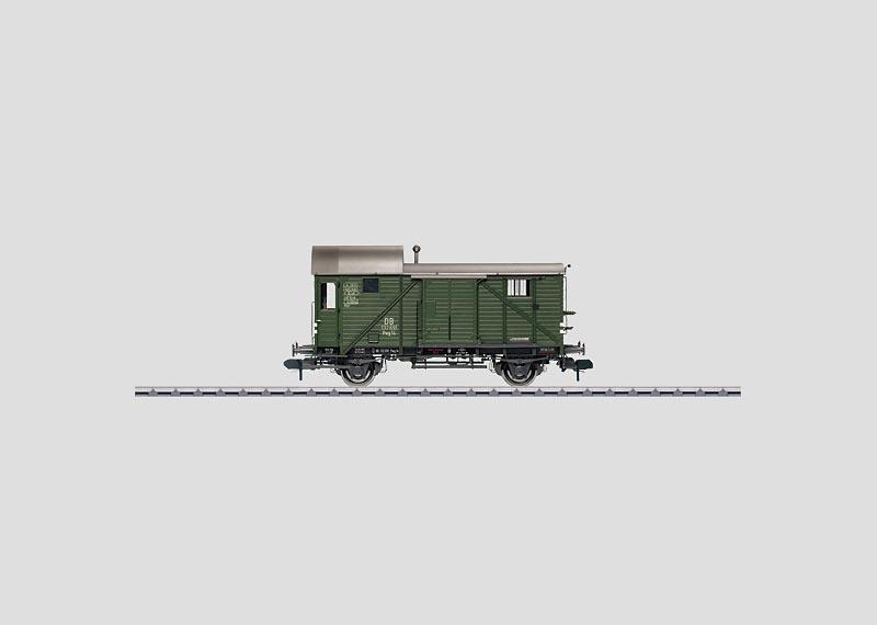 Freight Train Baggage Car.