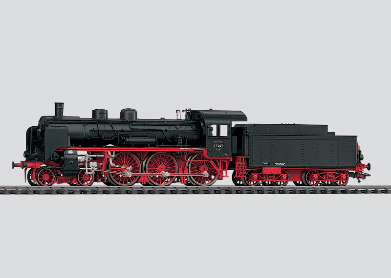 Express Locomotive with Tender.
