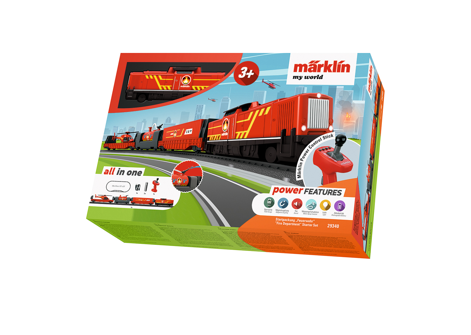 "Märklin my world - ""Fire Department"" Starter Set"
