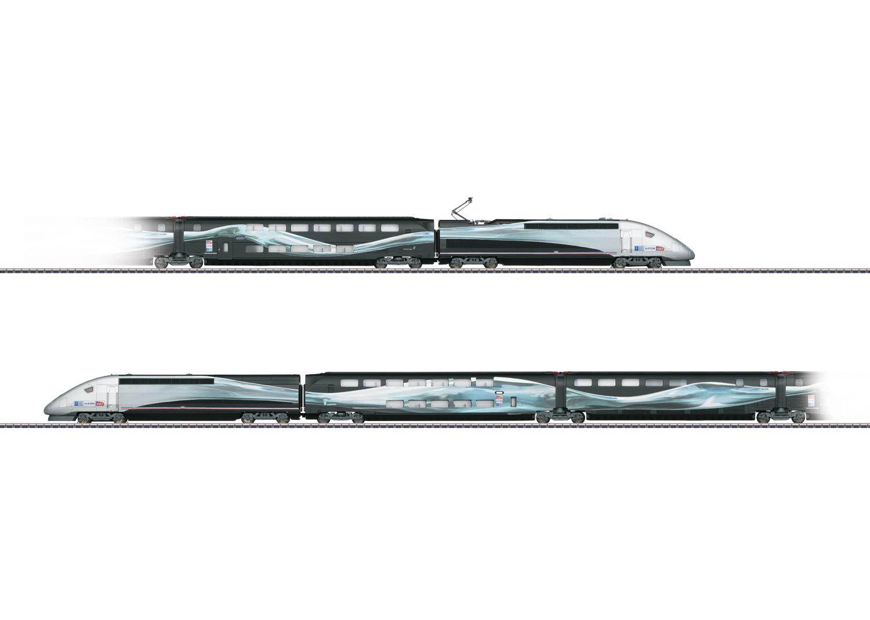 TGV Duplex V 150 High-Speed Train