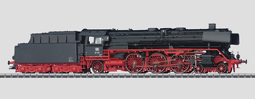 Locomotive pour train rapide à tender séparé.
