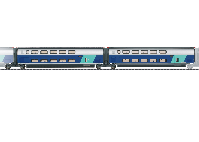 Ergänzungswagen-Set 2 zum TGV Euroduplex