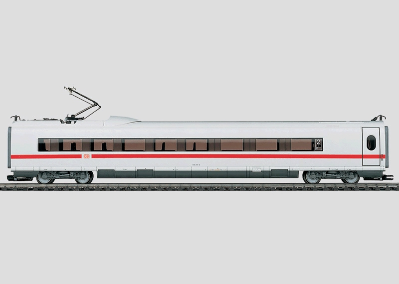 Intermediate Car for the Model of the ICE 3.