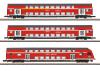 Doppelstockwagen-Set