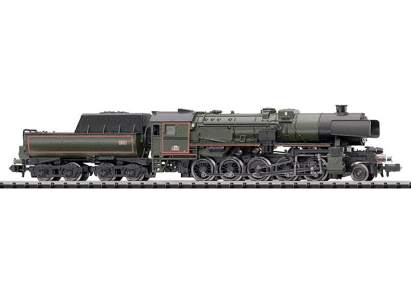 Güterzug-Schlepptenderlokomotive