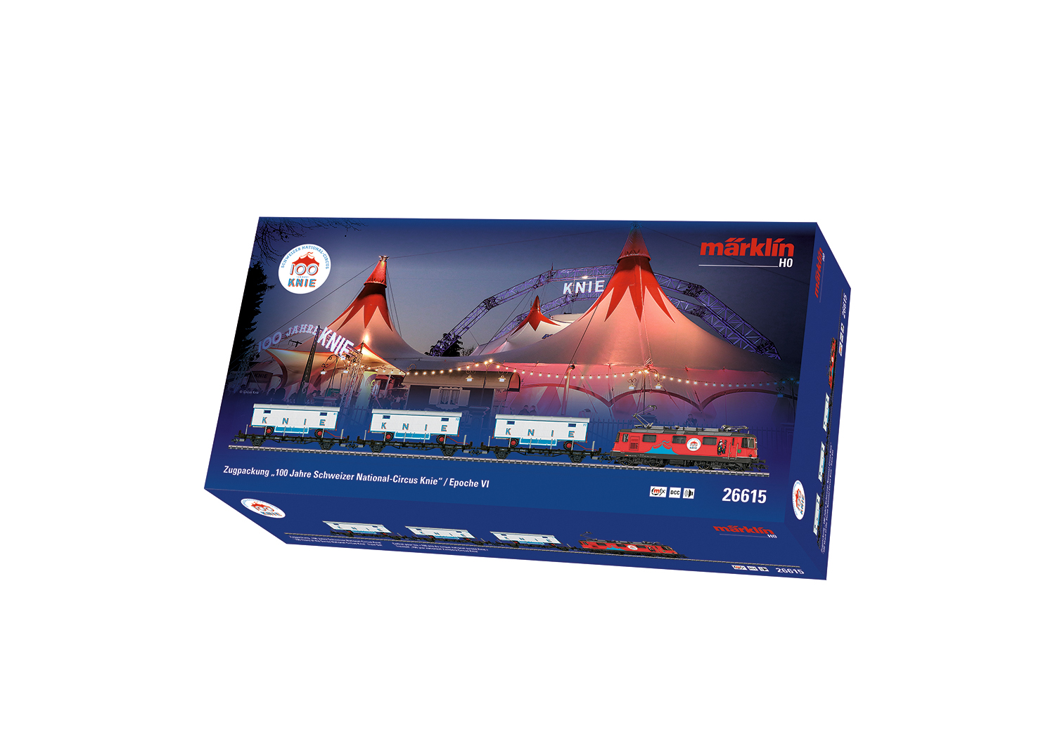 """100 Years of the Swiss National Circus Knie"" Train Set"