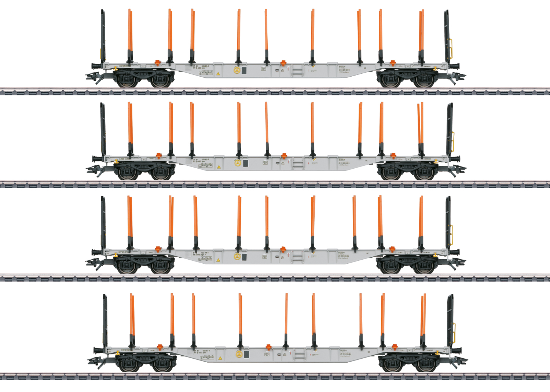 Güterwagen-Set Sgns 88