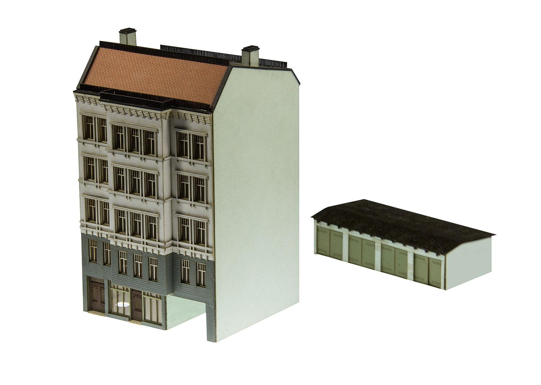 Bausatz Stadthaus aus der Gründerzeit
