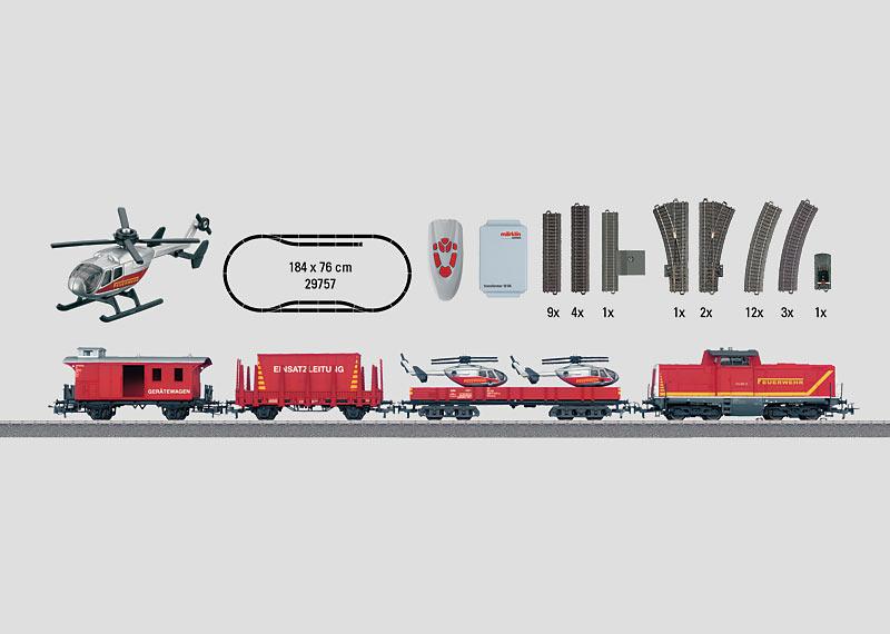 """""""Fire Department"""" Digital Starter Set. 230 Volts."""