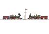 """Golden Spike"" steam locomotives set"
