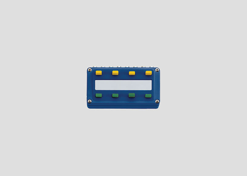 Schaltpult für Steckverbindungen mit 2,6 mm