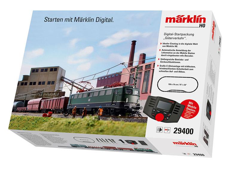"""""""Freight Service"""" Digital Starter Set. 230 Volts"""