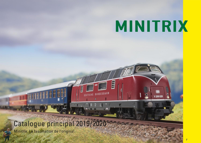 MINITRIX Katalog 2019/2020 FR