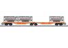 Type Sggrss Double Container Transport Car