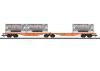 Doppel-Containertragwagen Sggrss