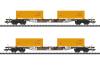 """Containertragwagen-Set """"Erdaushub Stuttgart 21"""""""