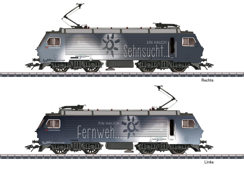 Elektrolokomotive Serie Re 4/4 IV