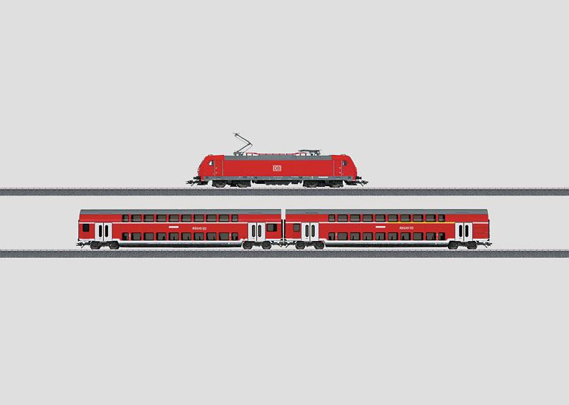 """Regional Express"" Digital Starter Set. 230 Volts."