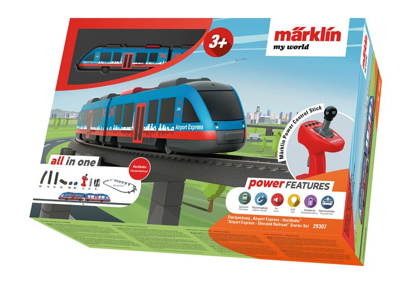 """Märklin my world - Coffret de départ """"Airport Express - chemin de fer aérien"""""""