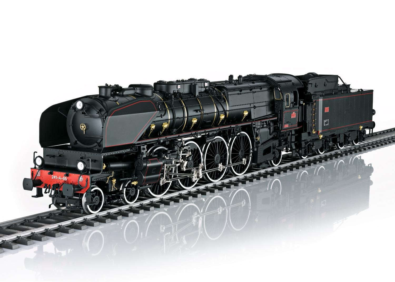 Dampflokomotive Serie 241-A