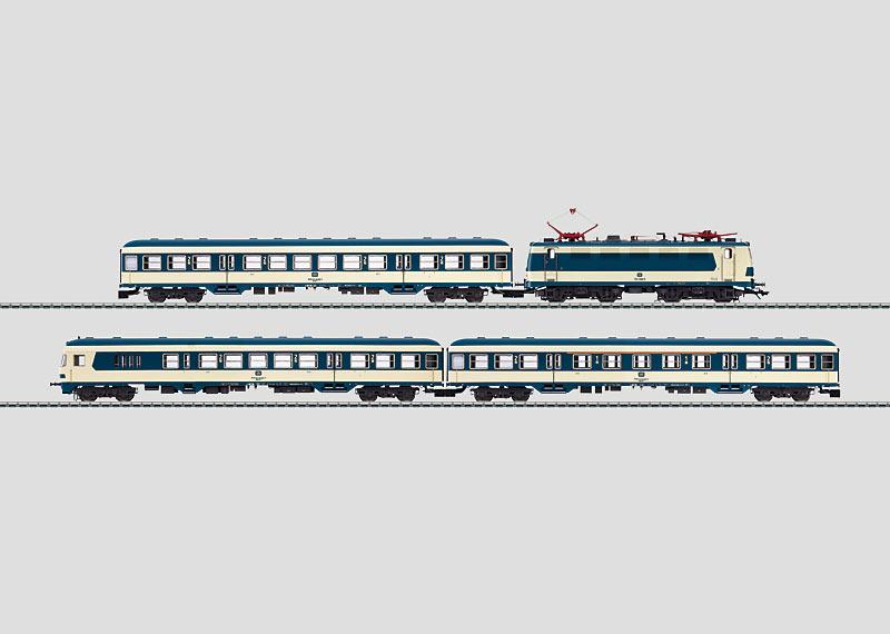 """S-Bahn Prototyp """"Karlsruher Zug""""."""