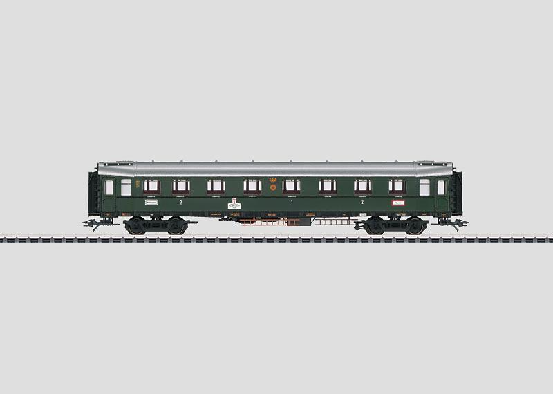 Express Train Passenger Car.