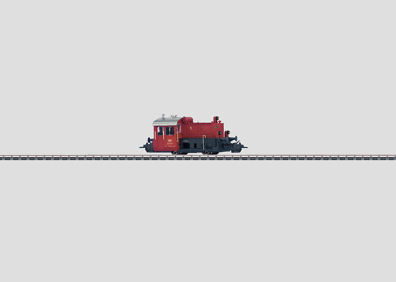 Small Diesel Locomotive.