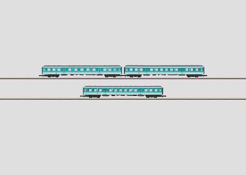 """DB AG """"Mintlinge"""" Passenger Car Set"""