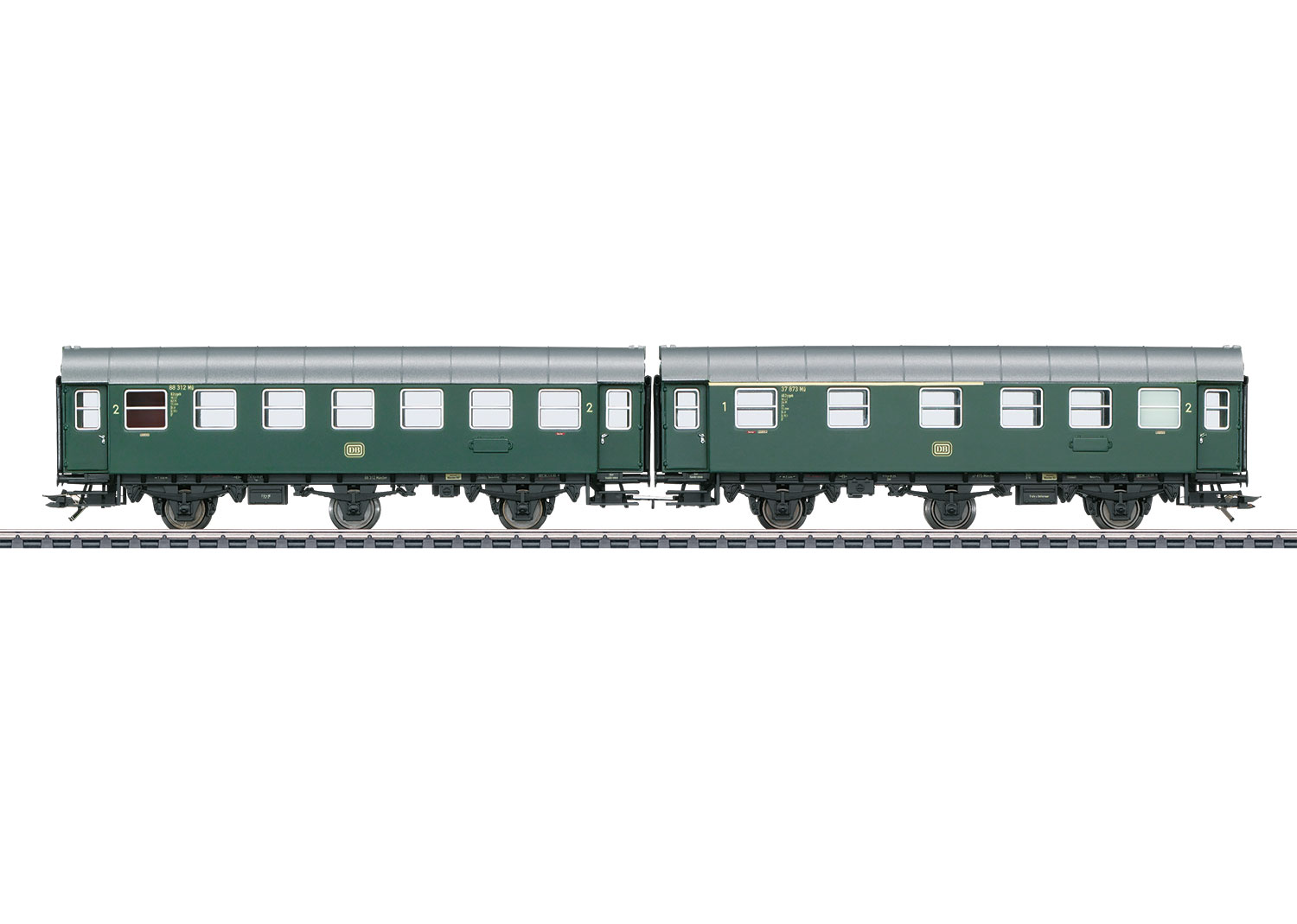 Pair of Passenger Cars, Type AB3ygeb with Type B3ygeb