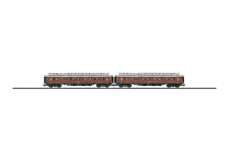 """Wagenset CIWL """"Orient-ExpressTM""""."""
