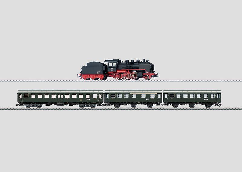 """Class 24 + Umbauwagen / Rebuild Cars"" Train Set."