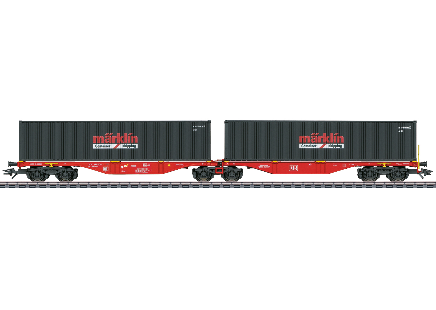 Type Sggrss 80 Double Container Transport Car