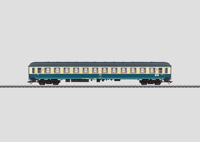 IC-Schnellzugwagen.
