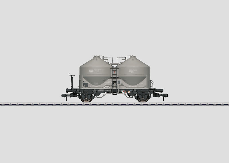 Powdered Freight Silo Container Car.