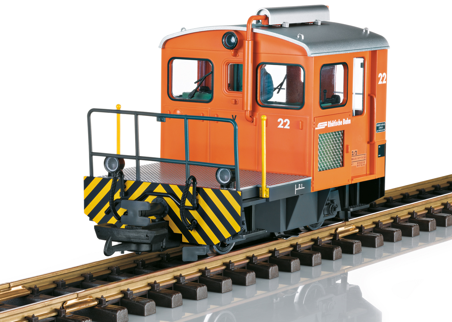 RhB Switching Tractor