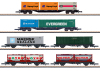 Container Transport Car Set