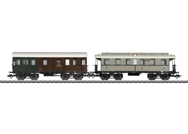 Branch Line Car Set 1