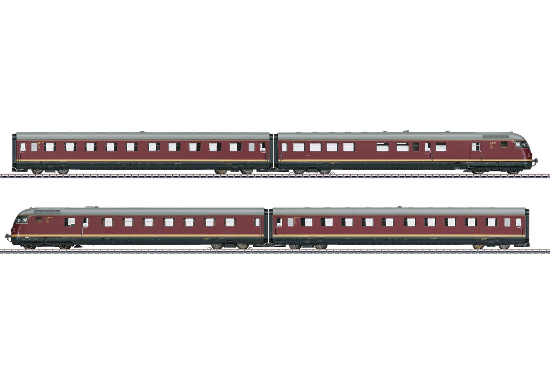 """VT 08.5 """"Paris-Ruhr"""" TEE Diesel Powered Rail Car Train"""