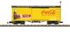 Coca-Cola® gedeckter Güterwagen