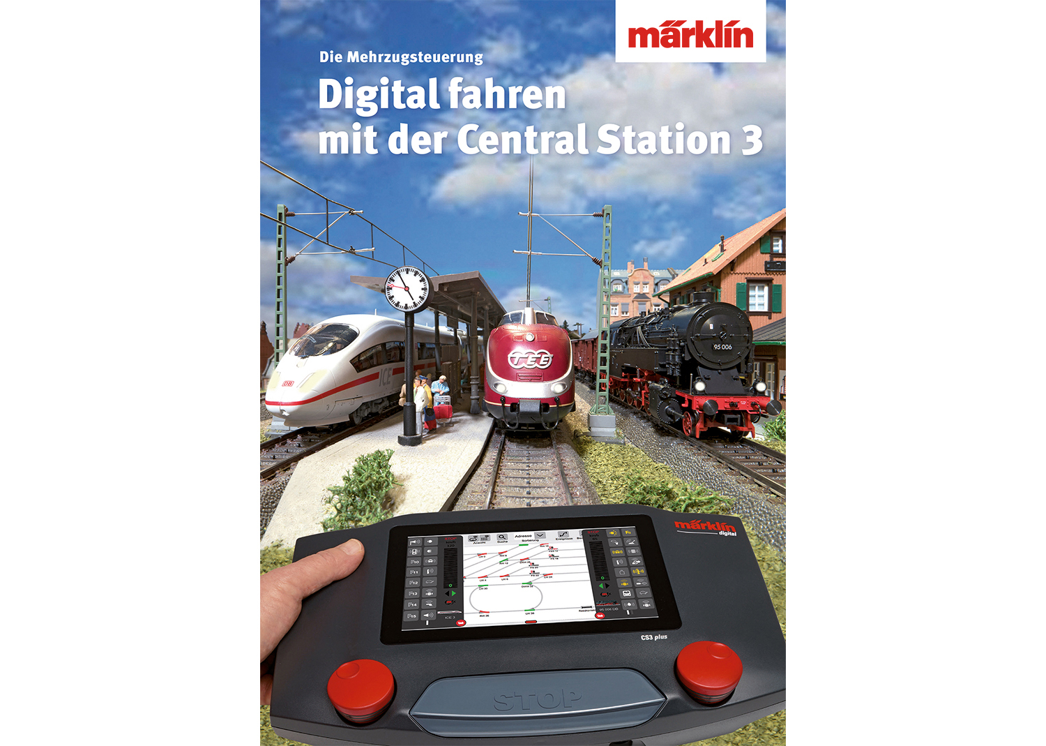 """""""Controlling Digitally with the Central Station 3"""" Book"""