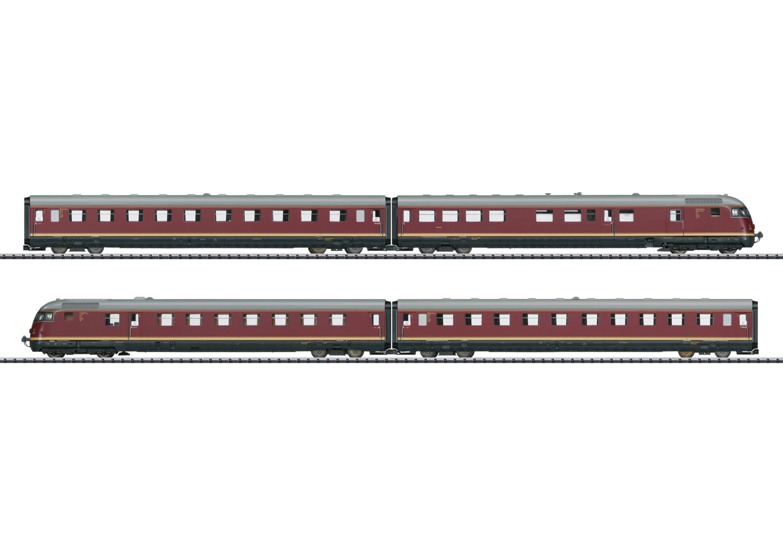 """TEE-Diesel-Triebwagenzug VT 08.5 """"Paris-Ruhr"""""""