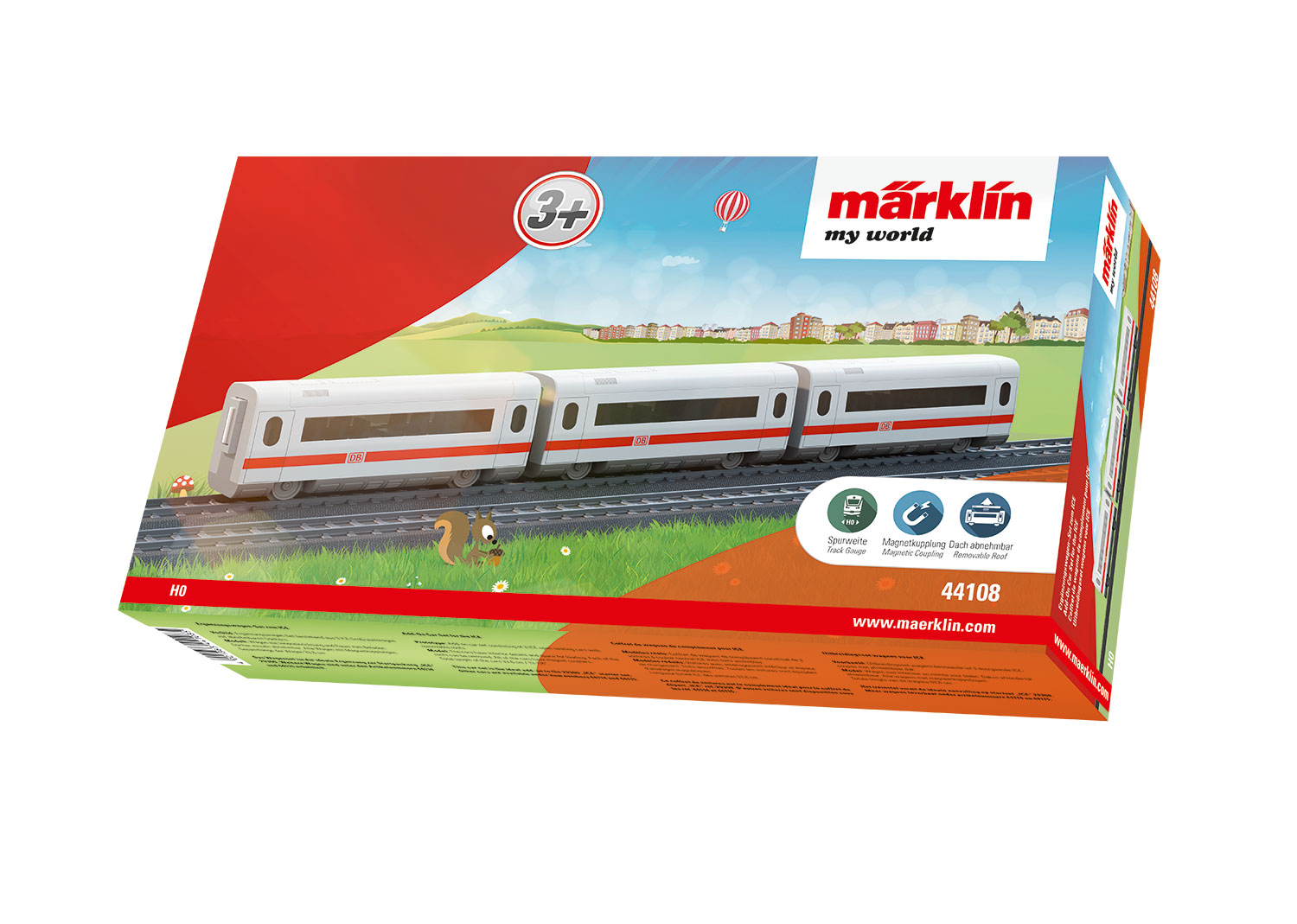 Märklin my world - Add-On Car Set for the ICE
