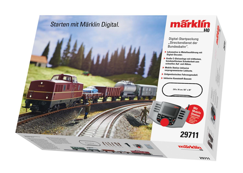 """Digital-Startpackung """"Streckendienst der Bundesbahn"""". 230 Volt"""