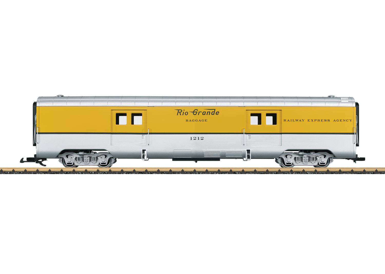 Denver & Rio Grande Baggage Car