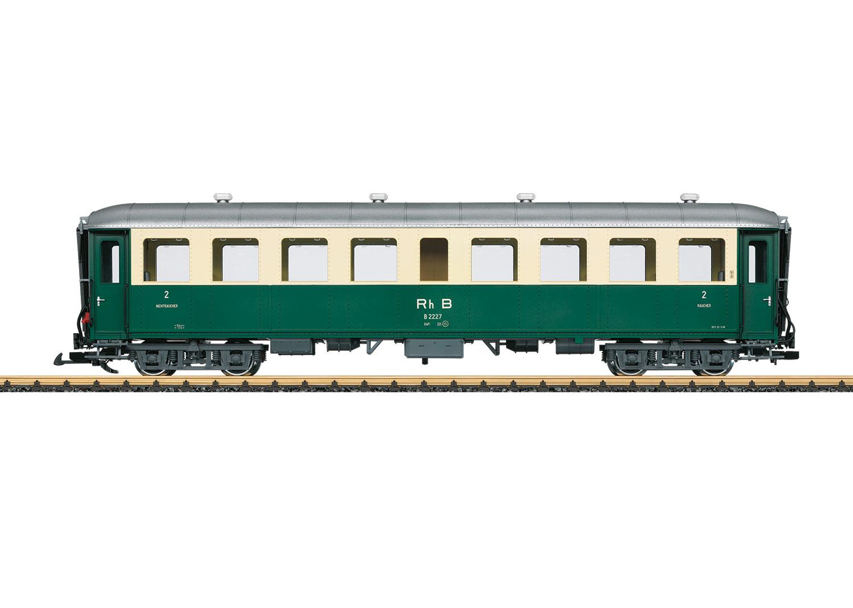 RhB Personenwagen 2. Klasse