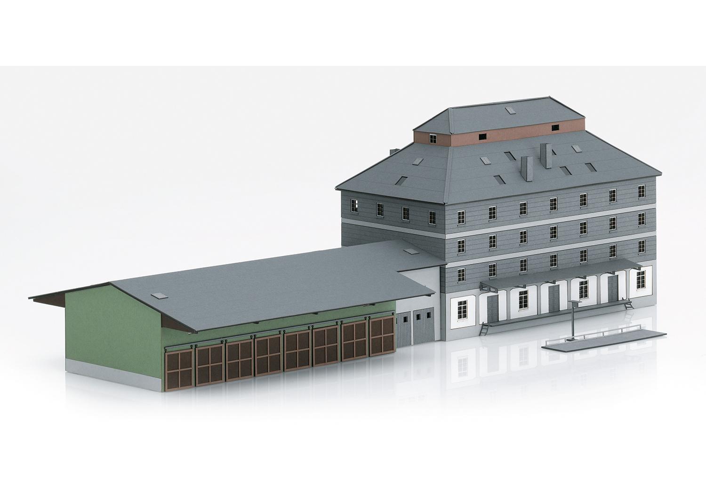 """Bausatz """"Raiffeisen Lagerhaus mit Markt"""""""