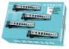 "French ""Tin-Plate"" Express Train Passenger Car Set"
