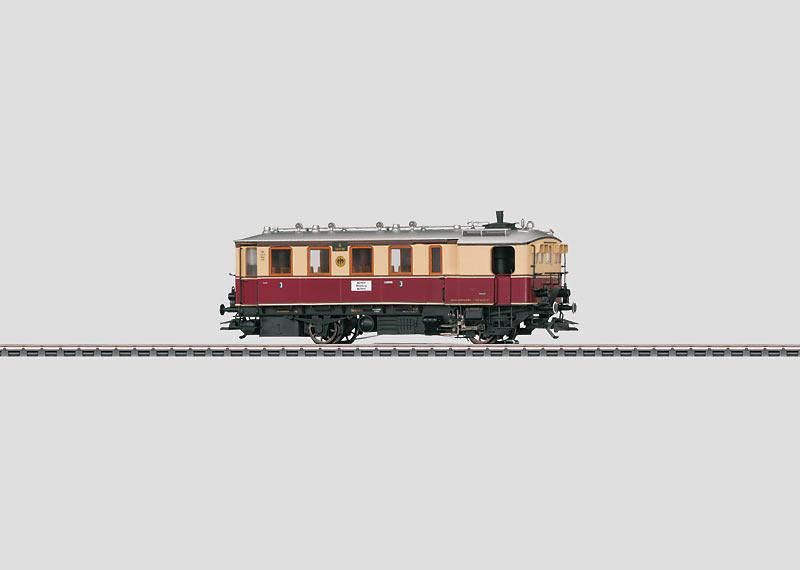 Steam Powered Rail Car.