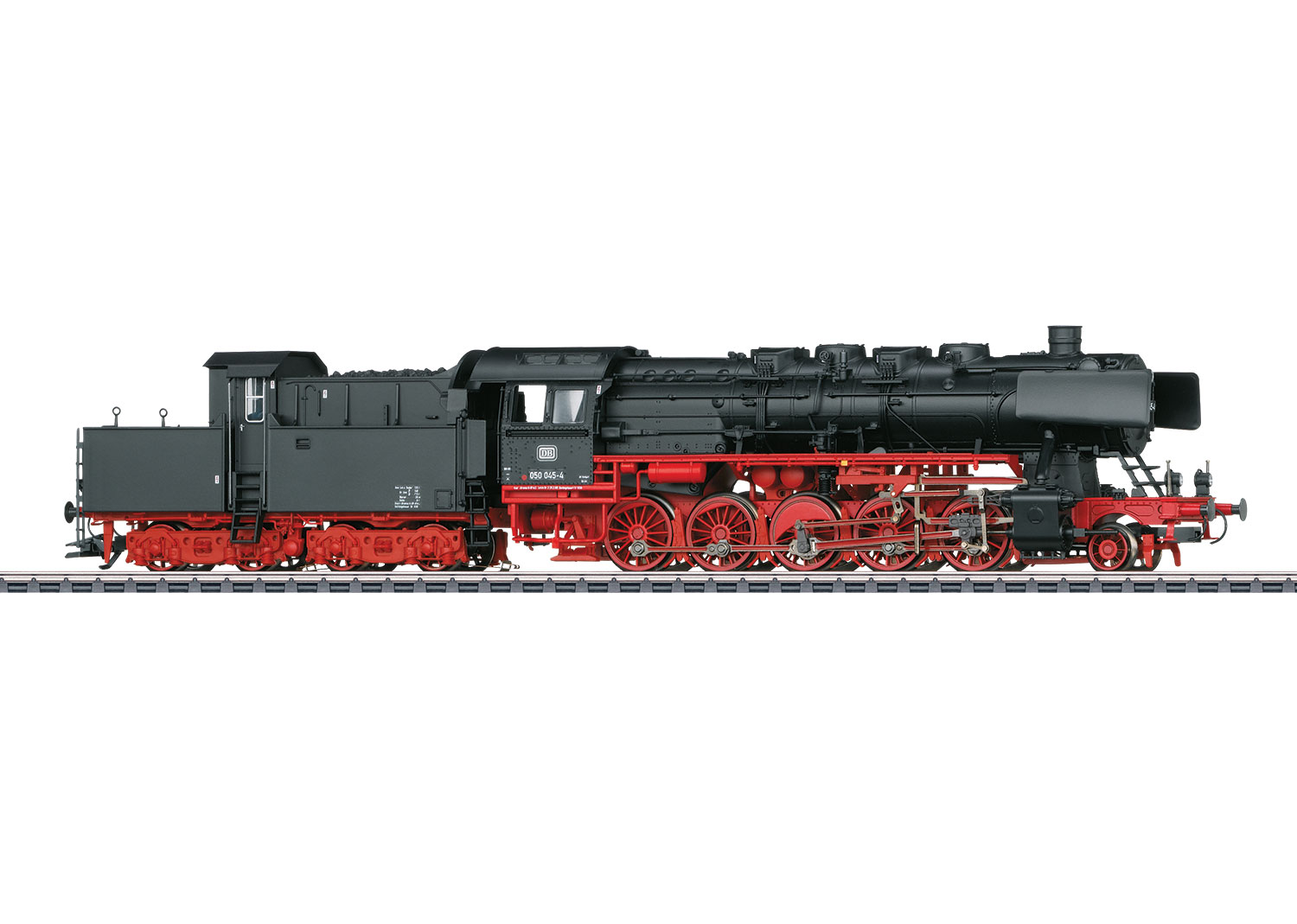 Class 050 Steam Freight Locomotive with a Cabin Tender